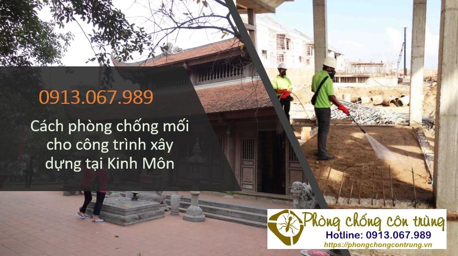 Dịch vụ phòng chống mối cho công trình tại Kinh Môn
